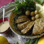 Мясной хлеб в марокканском стиле