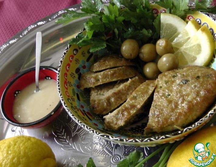 Рецепт: Мясной хлеб в марокканском стиле
