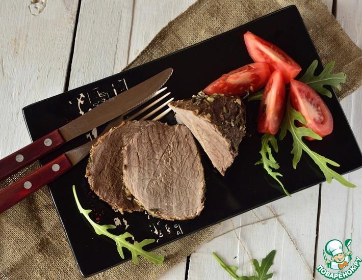 Рецепт: Ароматная говядина