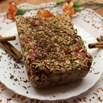 Утренний овсяный пирог