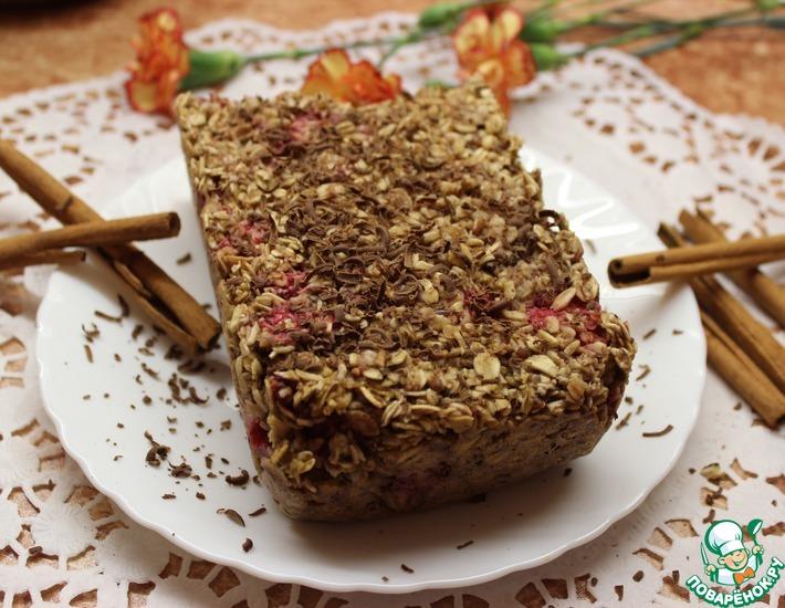 Рецепт: Утренний овсяный пирог
