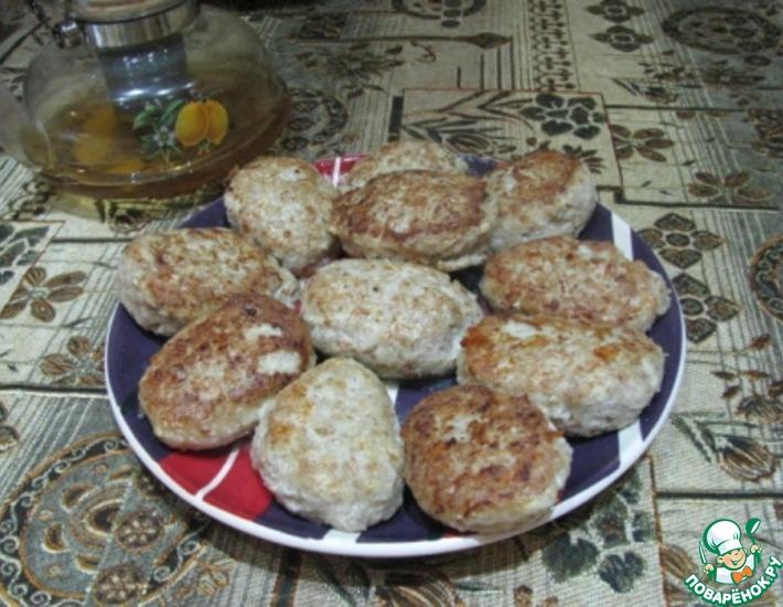 Рецепт: Гречневые котлеты с мясом курицы