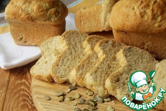 Рецепт: Хлеб на молоке