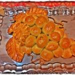 Пирог Веточка винограда