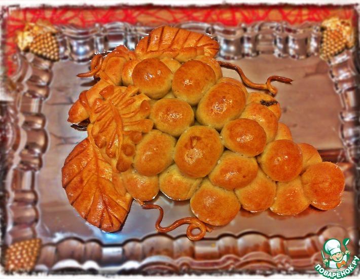 Рецепт: Пирог Веточка винограда