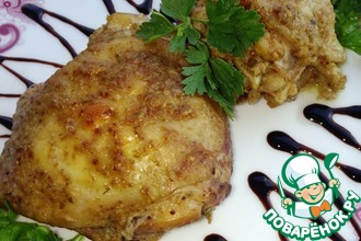 Рецепт: Курица Пошла кура по орехи
