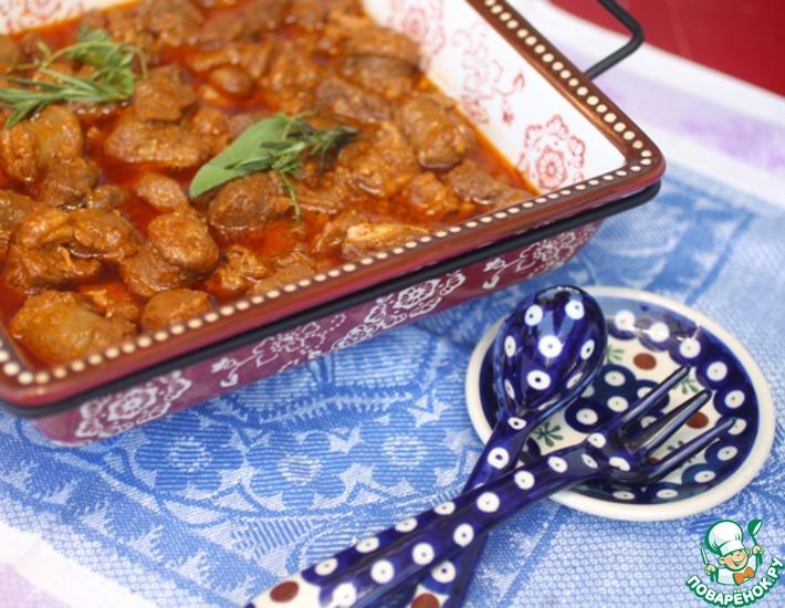 Рецепт: Рагу из трех видов мяса в азиатском стиле