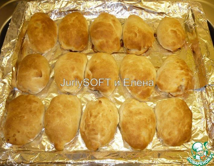 Рецепт: Пирожки с мясом Домашние