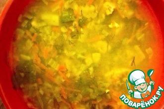 Рецепт: Суп с чечевицей