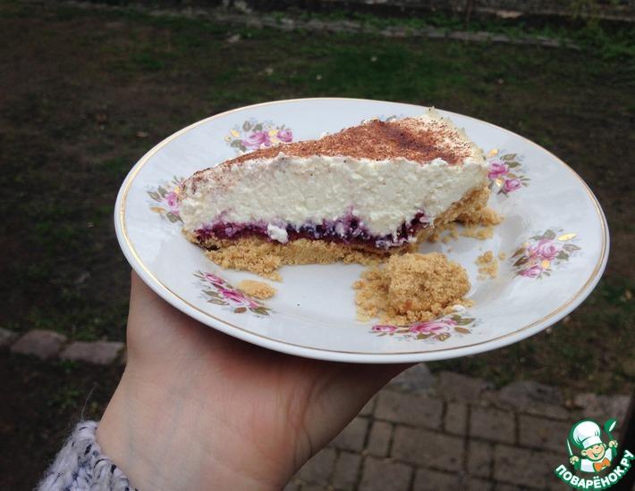 Рецепт: Торт Творожная нежность