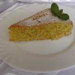 Тосканский пирог с яблоком
