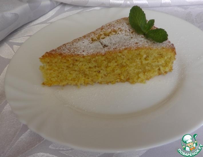 Рецепт: Тосканский пирог с яблоком