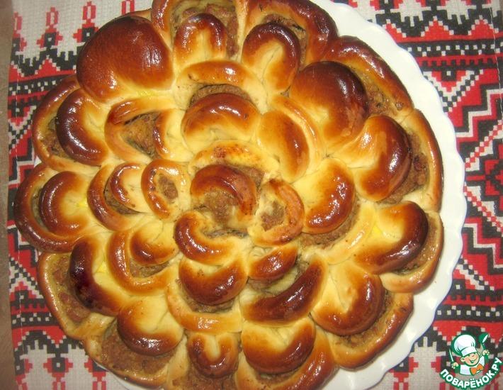 Рецепт: Мясной пирог
