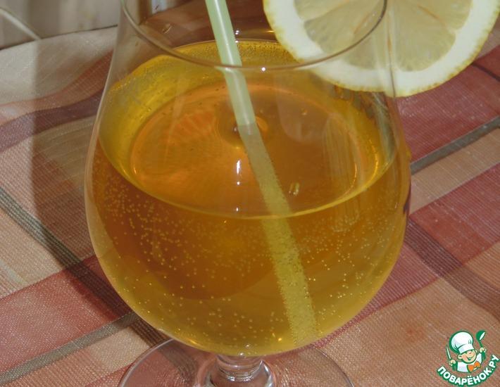 Рецепт: Лимонад с розмарином