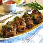 Голубцы духовые с томатно-грибным соусом