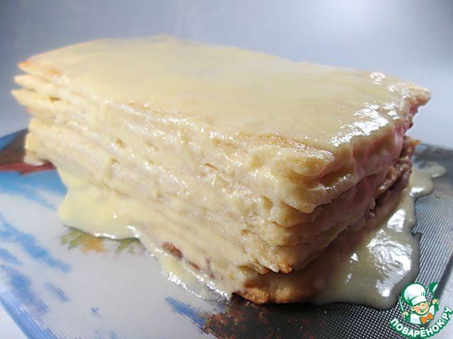 "Торт ""Наполеон"" на светлом пиве"