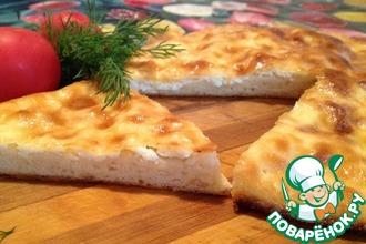 Рецепт: Хачапури с адыгейским сыром