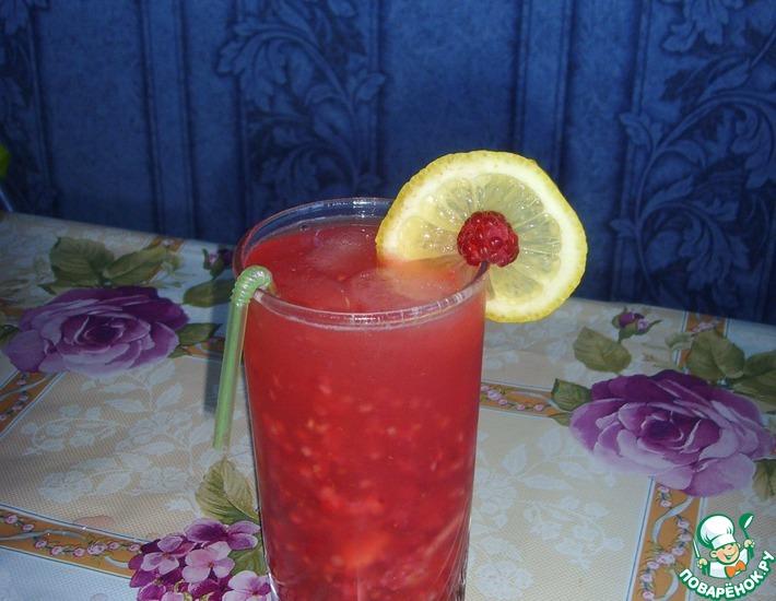 Рецепт: Малиновый лимонад Малинад