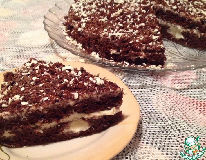 Рецепт: Торт Шоколадный Сюрприз с кабачком