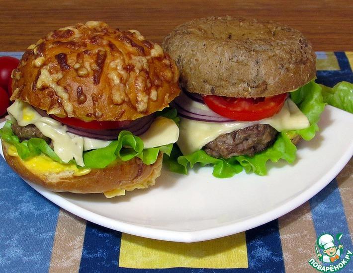 Рецепт: Чизбургер Домашний