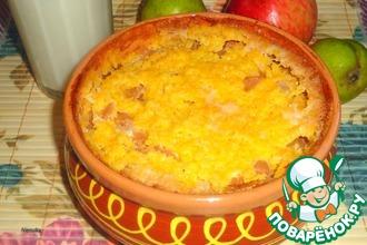 Рецепт: Кукурузная каша с яблоком