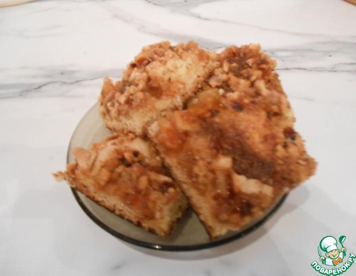 Рецепт: Пирог с вареньем по типу Каракум