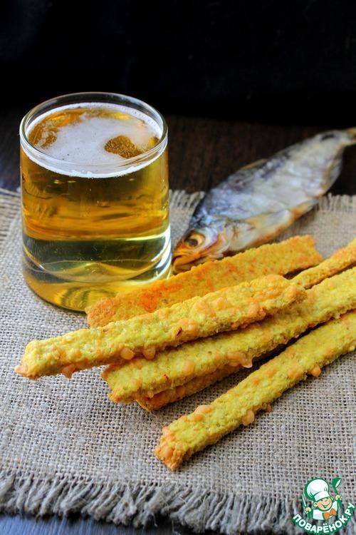 Овсяные палочки к пиву – кулинарный рецепт
