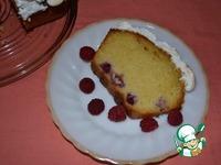 Лимонный пирог Малина под снегом ингредиенты