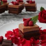 Пирожные Шоколадно-малиновое удовольствие