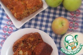 Рецепт: Десертный яблочный хлеб