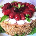 Торт Малиновое превращение