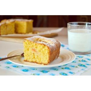 Тосканский кукурузный пирог с абрикосами