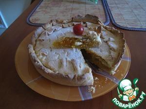 Рецепт Абрикосово-апельсиновый пирог