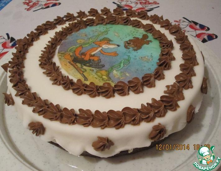 Рецепт: Коньячный торт