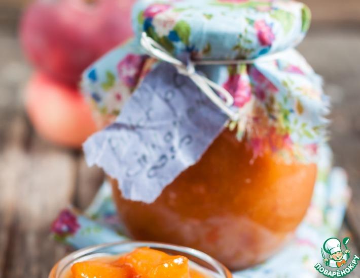 Рецепт: Персиковая карамель