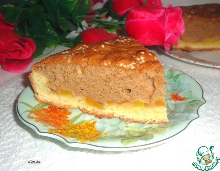 Рецепт: Нектариновый пирог Очарование