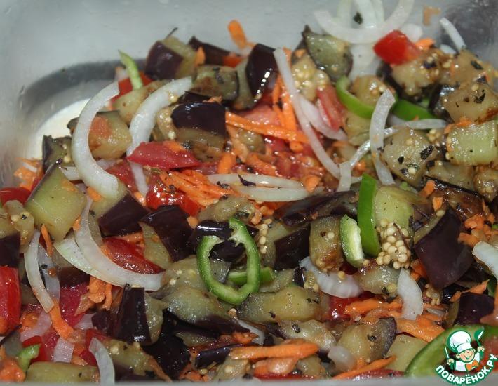 Рецепт: Овощной салат Быстрый