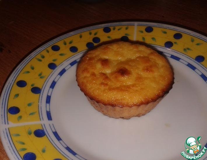 Рецепт: Воздушные сырники-кексы в духовке