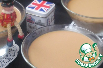 Рецепт: Чайное суфле