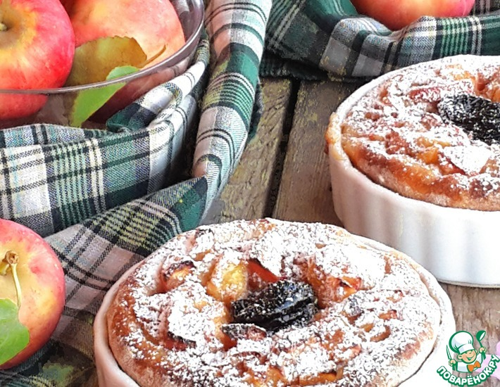Рецепт: Сезонные пироги Яблочная фройлен