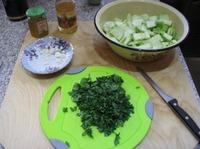 Закуска из маринованных кабачков с медом и чесноком ингредиенты