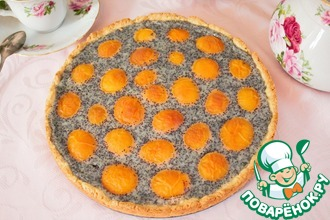 Рецепт: Абрикосовый тарт с маком