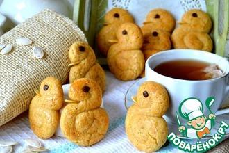 Рецепт: Коричное печенье Утята