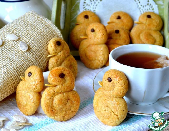 "Коричное печенье ""Утята"""