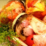 Ассорти из овощей в пряном маринаде