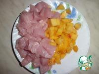 Индейка в клюквенно-персиковом соусе ингредиенты