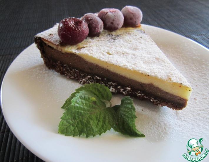 Рецепт: Кофейно-шоколадный сырник
