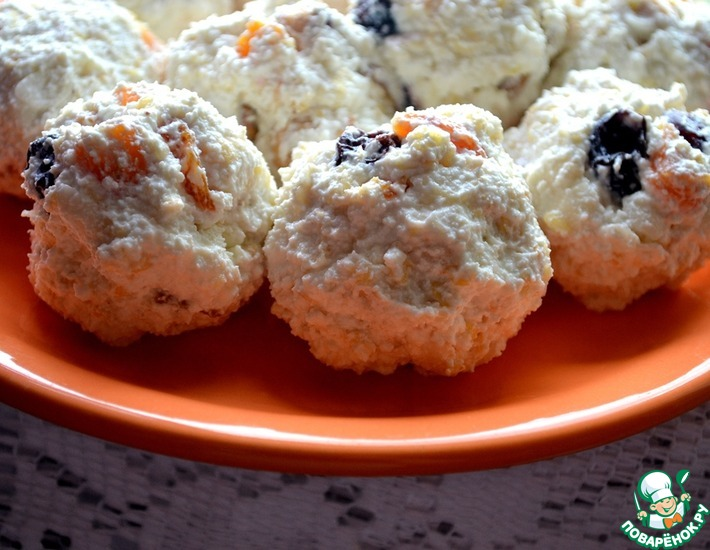 Рецепт: Мюсли орехово-творожные