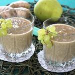 Яблочный смузи с овсянкой и имбирем