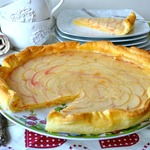 Яблочно-ванильный тарт